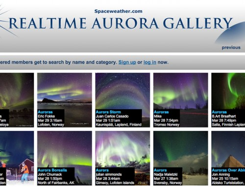 Real Time Aurora Gallery