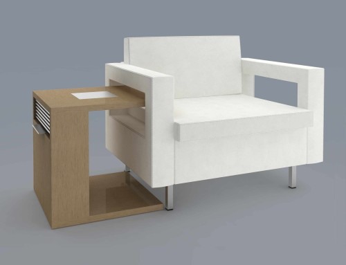 Virage Lounge Chair & Side Table